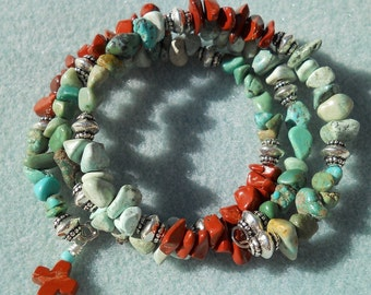 Love Chips - Turquoise, Howlite, and Jasper Chips