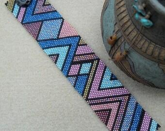 Mountain Mosaic - Beaded Bracelet