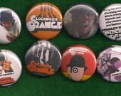 CLOCKWORK ORANGE Pins Buttons Badges Stanley Kubrick