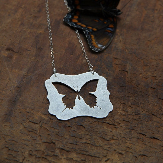 Swallowtail Sterling Necklace