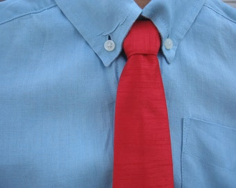 Boys / Toddler red necktie