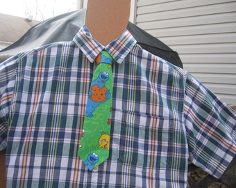 Cookie Monster  Boys Tie