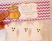 INSTANT Download-Peek a BOO Treat Bag Tags: Child Halloween - Printable PDF