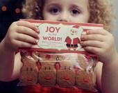 INSTANT Download- Santa-Christmas Treat Bag Tags - Printable PDF