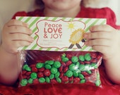 INSTANT Download-Christmas Treat Bag Tags: Baby Jesus - Printable PDF
