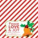 INSTANT Download-Christmas Treat Bag Tags: Bells & Holly - Printable PDF