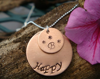 B Happy Copper Necklace