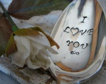I Love You - Vintage Coffee Spoon