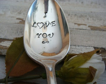 I Love You - Vintage Coffee Spoon
