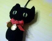 Cat Charm with Mini Locket