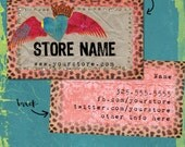 Wild at Heart Business Card Design File
