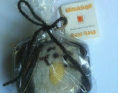 Felted Beer Soap Spearmint and Absinthe Seagull