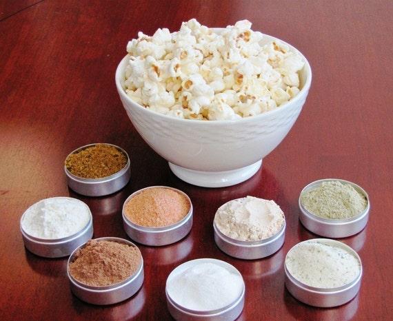NEW FLAVORS Popcorn spice kit