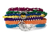 Friendship Bracelets - Festival of India - Silver