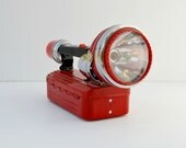 Flashlight Hilco 1965 red lantern
