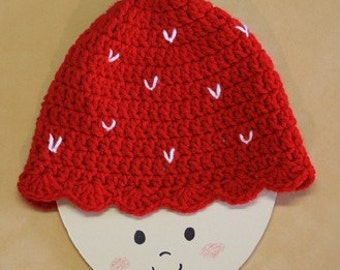 Strawberry Shortcake beanie