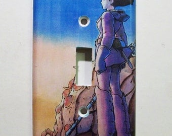 Nausicaa of the Valley of the Wind Light Switch Cover - Switchplate - Switch Plate Cover