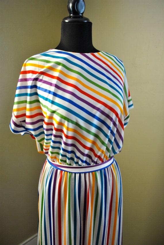 Rainbow Brite 1980s Light Dress