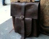 Ash Rucksack / Custom Leather Backpack / Brown Leather Rucksack / Laptop & Computer Backpacks / Leather Satchel / Travel Bag / Custom Made