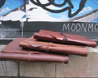 Blank paper notebook, Large leather sketchbook, Drawing journal, Handmade leather notebook, Art sketchbook, Blank journals, Gift for her