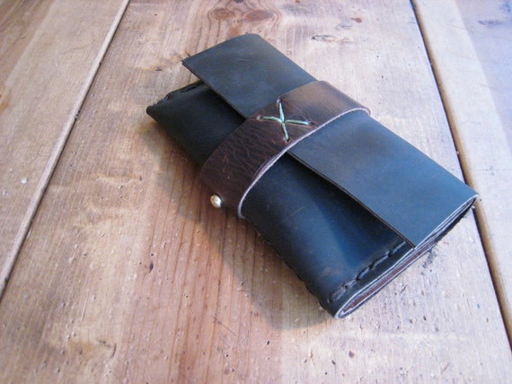 Reserved Iphone Leather wallet by Aixa Sobin on Etsy
