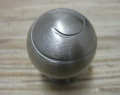 3 Stainless Steel Knobs - reclaimed - upcycle - DIY