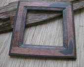 Rustic Wood Frame - Reclaimed Cabinet Door Frame - DIY photo frame supply