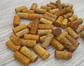 Orange Wine Corks - eco crafting supply - DIY wine corks craft ideas