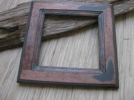 Rustic Wood Frame - Reclaimed Cabinet Door Frame - DIY photo frame supply