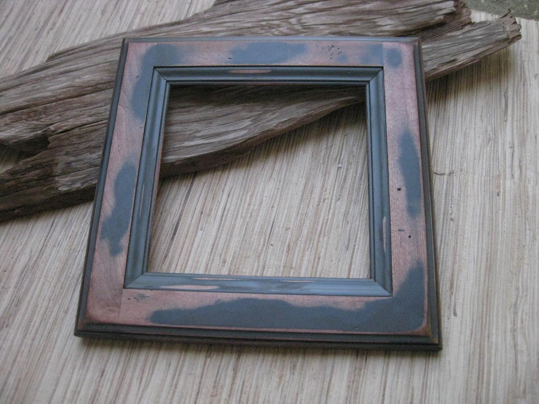 Rustic Wood Frame Reclaimed Cabinet Door Frame Diy Photo