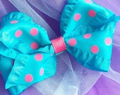 Turquoise n Pink Dots
