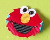 Elmo Hair Clip