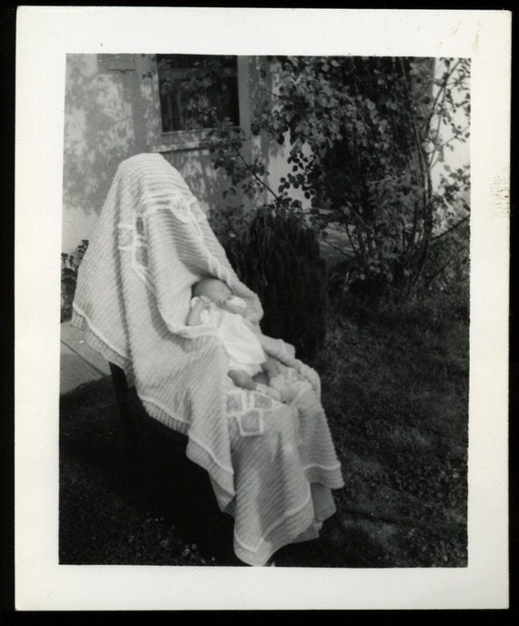 ON SALE TODAY / Bizarre Covered Mother / Ghost Mom Photo from 1942