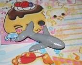 Kawaii Miniature Humpback Whale Figurine