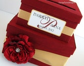 Wedding Card Box Wedding Money Holder Wedding Money Box- You customize
