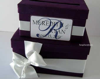 Wedding Card Money Box/Holder - Custom Made to your colors and specifications