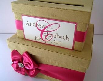 Wedding Gift Card Boxes, Money Card Box, Custom Card Box, Wedding Card Holder - Custom Made to Order