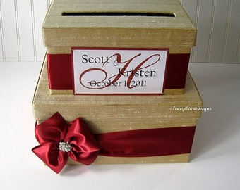 Wedding Card Boxes, Money Card Box, Custom Card Box, Wedding Card Holder - Custom Made to Order