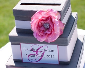 Wedding Card Box Custom Money Box Gift Card Holder - Custom Made