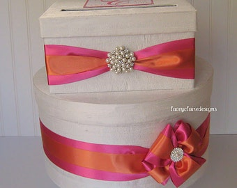 Wedding Card Box Custom Card Box Money Card Box Wedding Card Holder - Handmade to Order