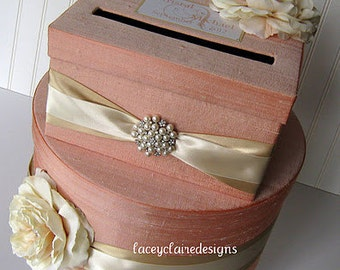 Wedding Card Boxes Custom Made Money Holder