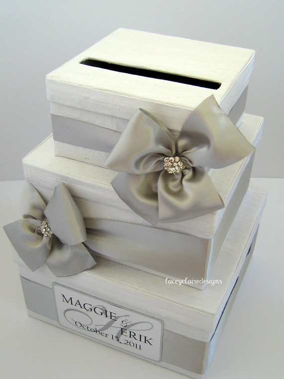 Wedding Gift Box Etsy : Wedding Card Box, Money Card Box, Gift Card Box, Card Holder - Custom ...