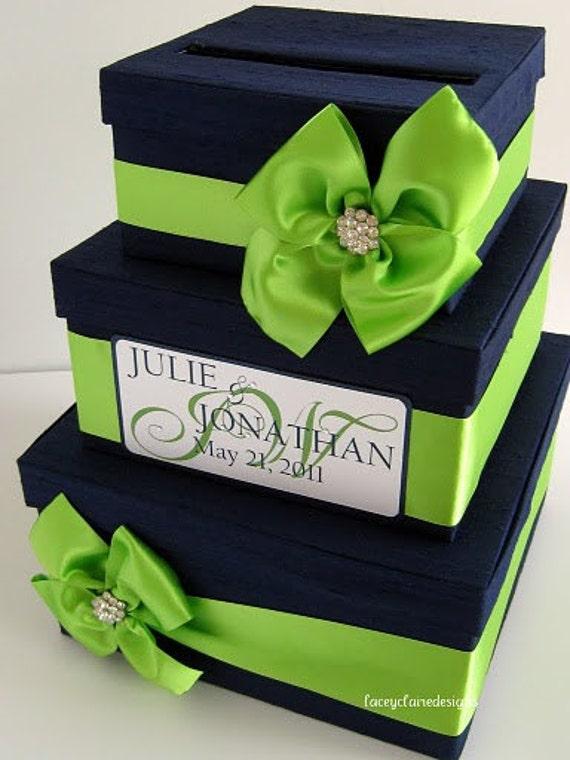 Wedding Card Box Money Holder Personalized Custom Made
