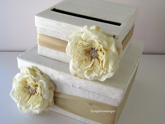 Wedding Shower Gift Card Holders : Card Box Wedding Bridal Shower Card Box Wedding Gift Card Holder ...