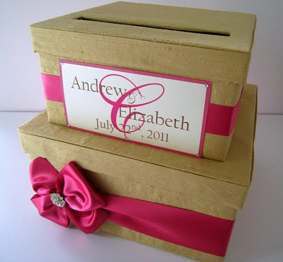 Wedding Gift Card Box : Wedding Gift Card Boxes, Money Card Box, Custom Card Box, Wedding Card ...