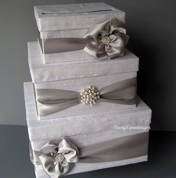 Wedding Card Holder Gift Ideas: Wedding Card Box Money Box Gift Card Box Holder Custom Made To