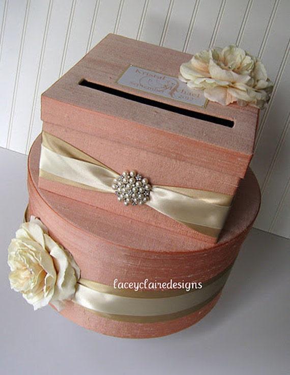 Wedding Card Boxes Custom Made Money Holder