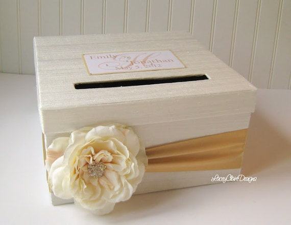 Card Box for Wedding Money Holder - You customize colors