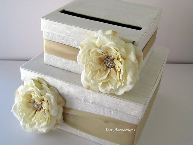 Wedding Gift Boxes: Card Box Wedding Bridal Shower Card Box Wedding Gift Card