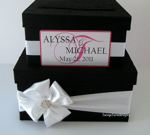 Wedding Planner Gift Box : wedding card box money holder gift card box bridal shower card